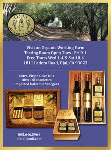 Ojai Olive Oil ad