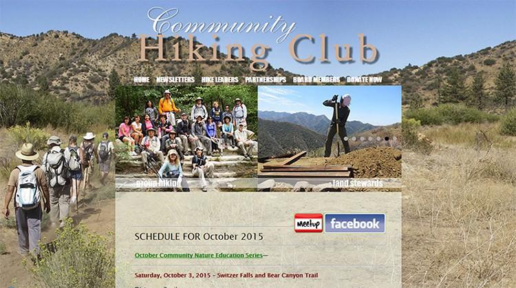 CommunityHikingClubWebsite