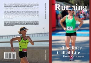 Running book cover
