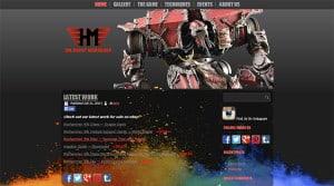 HM Paint Workshop Website