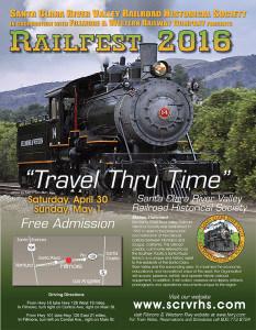 RailFest flier design
