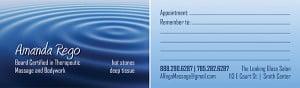 Amanda Business Card design