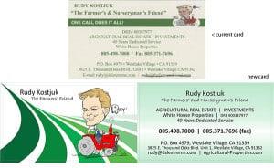 Rudy Kostjuk business cards