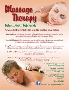Massage Flier