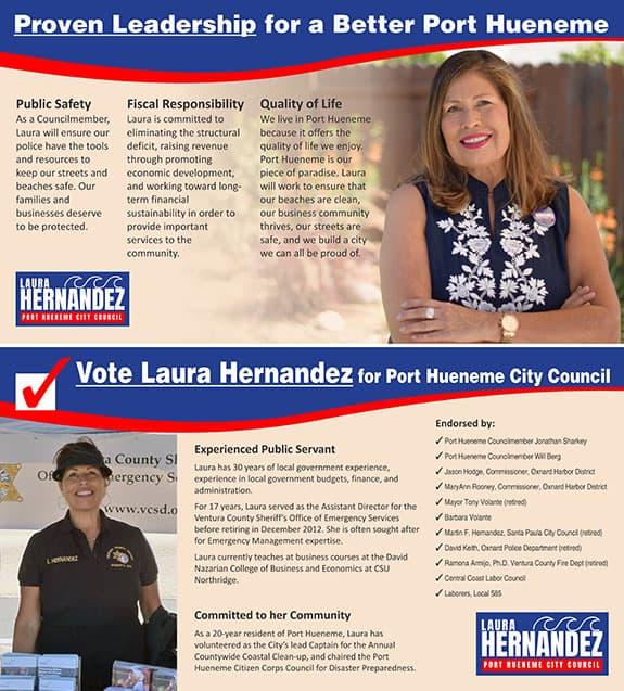 laura hernandez walking card graphic design