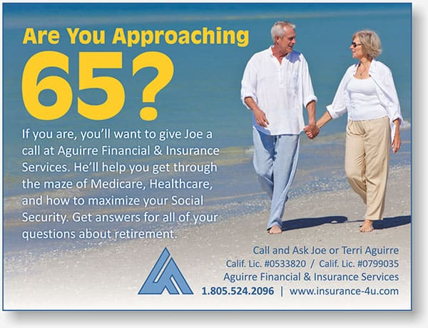 Aguirre Financial display ad
