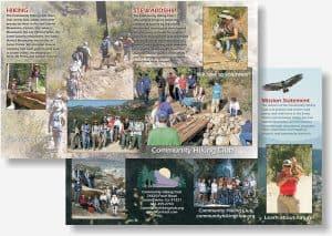 Santa Clarita Hiking Club brochure