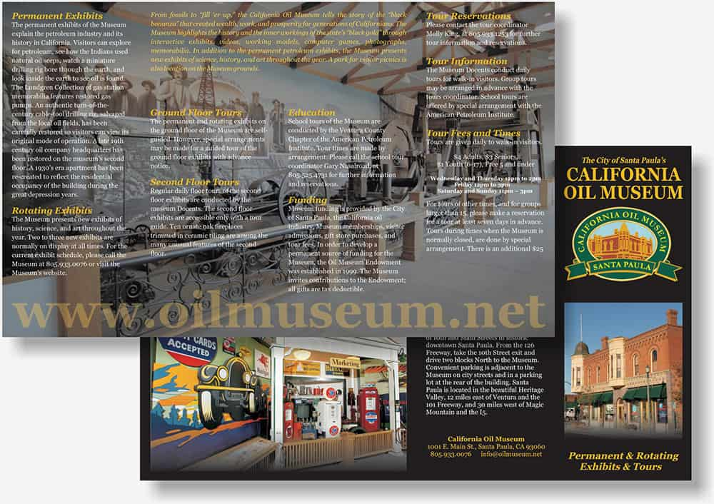 California Oil Museum brochure