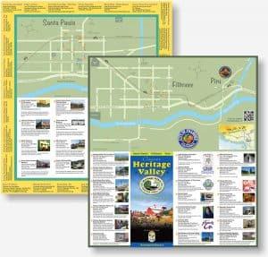 Heritage Valley Tourism Bureau brochure