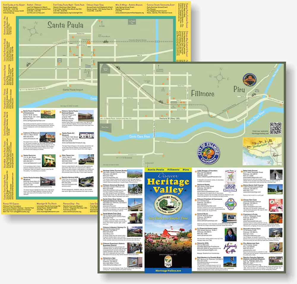 Heritage Valley Tourism Bureau brochure