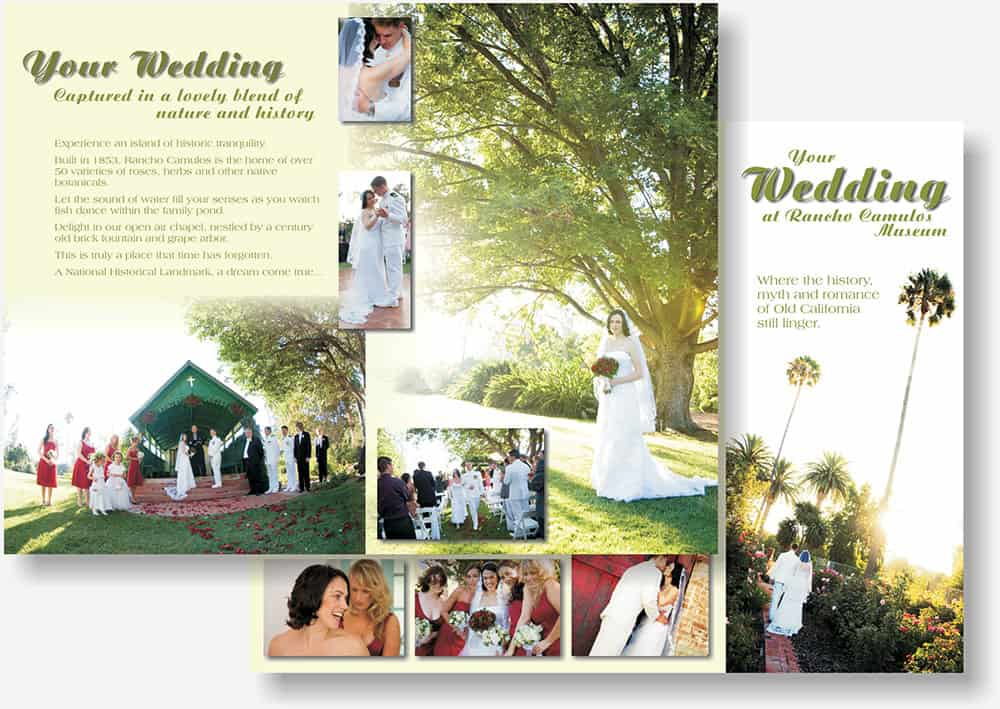 Rancho Camulos Wedding brochure