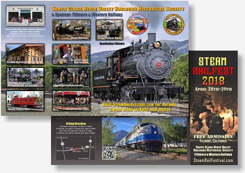 Railroad RailFest brochure