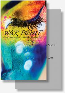 War Paint business card