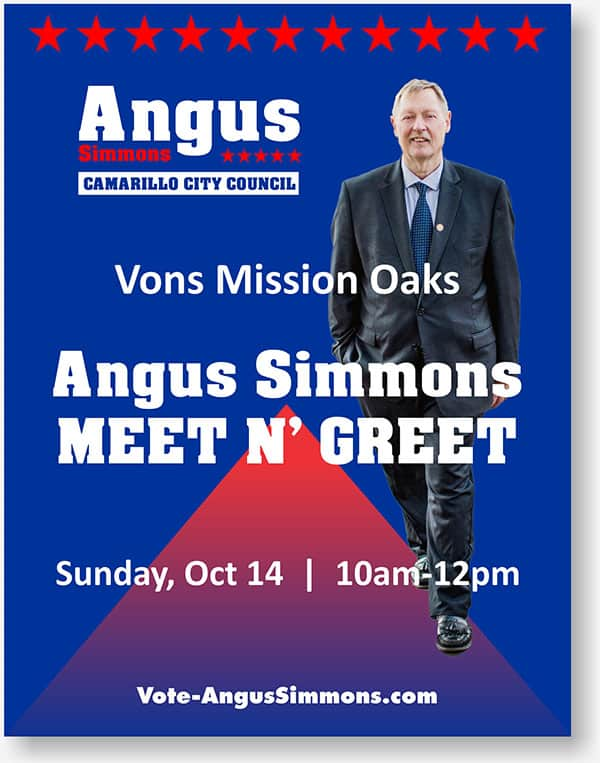 Angus Simmons flier