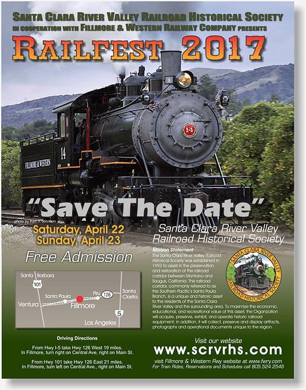 RailFest flier