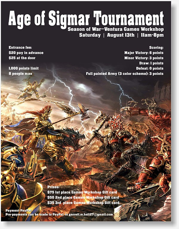 HM Paint Workshop flyer