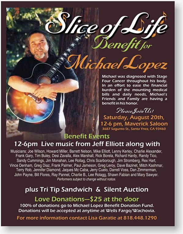 Michael Lopez flyer