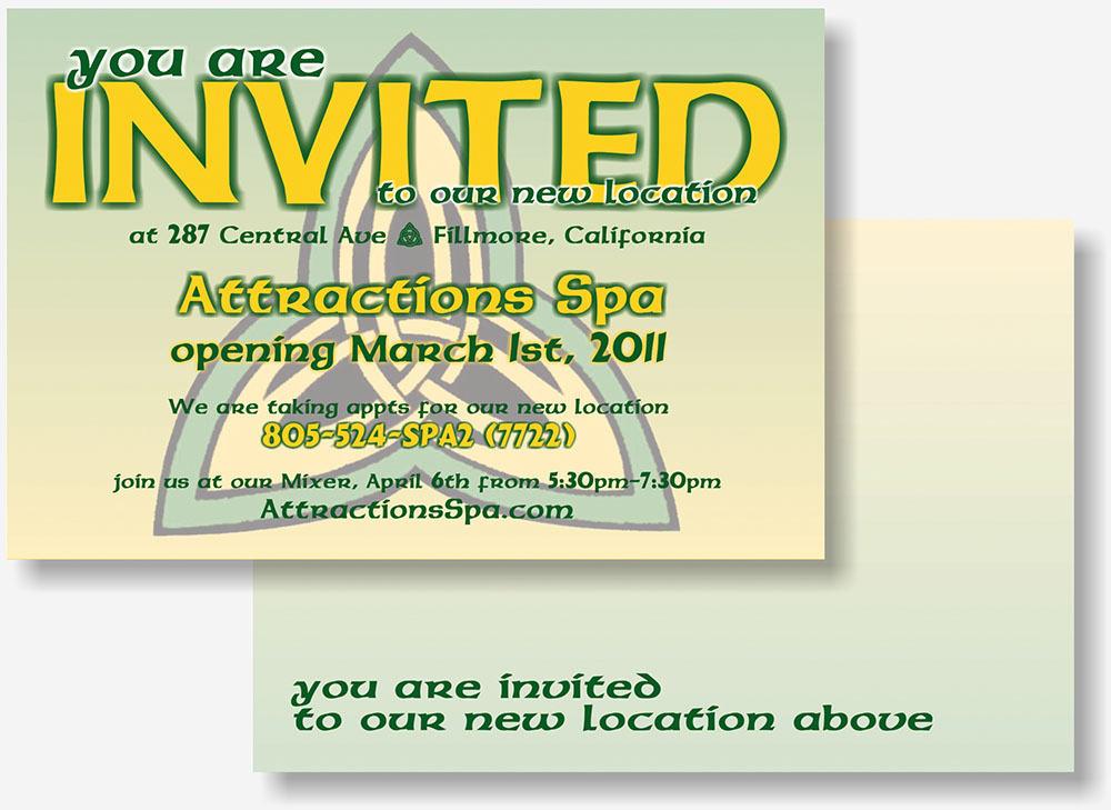 Attractions Spa postcard