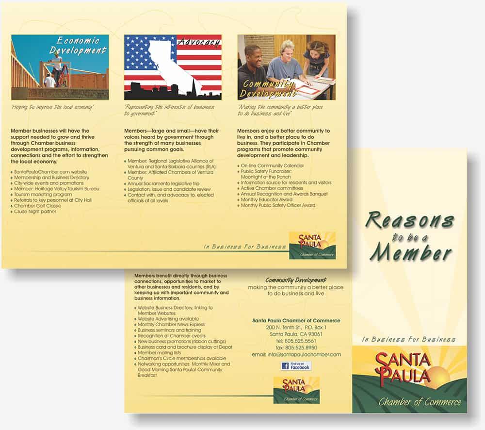Santa Paula Chamber brochure