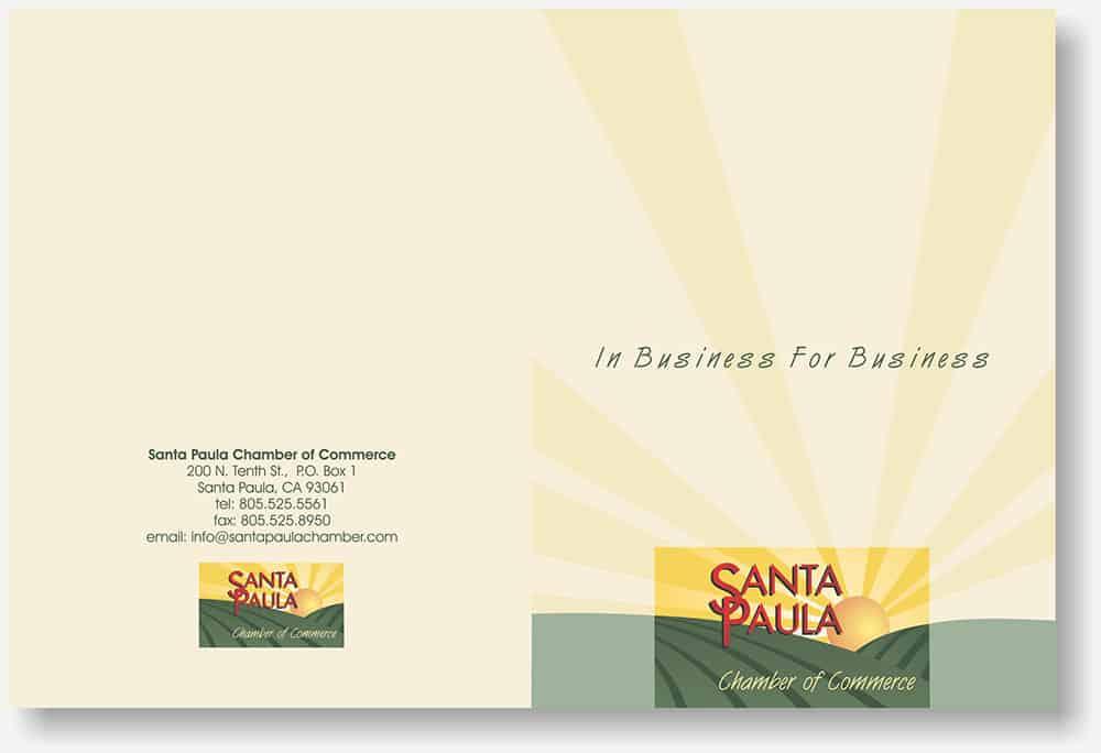 Santa Paula Chamber folder
