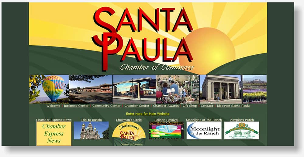 Santa Paula Chamber website