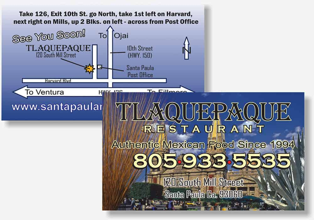 Tlaquepaque business card