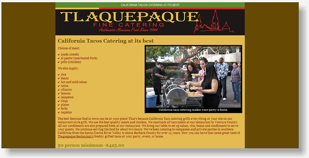 Tlaquepaque website