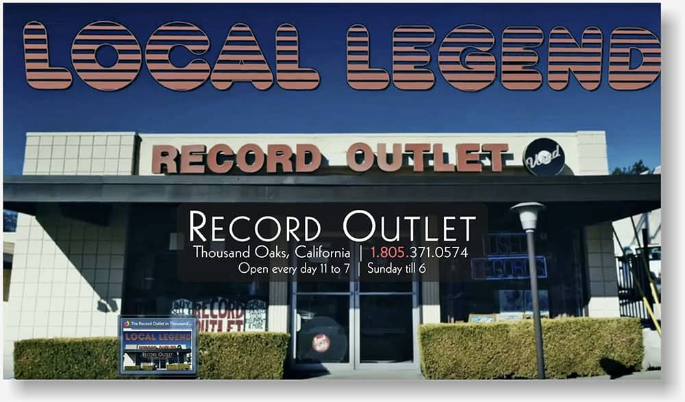 Record Outlet web design