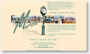 Santa Paula Murals website