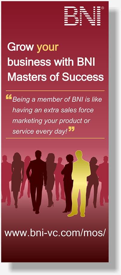 BNI vertical banner