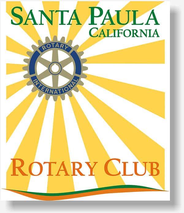 Santa Paula Rotary Club banner