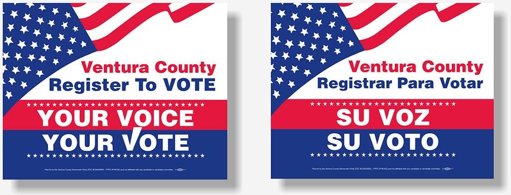 Ventura County Democrats banner