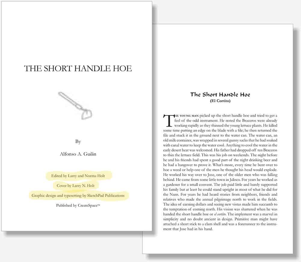Short Handle Hoe book