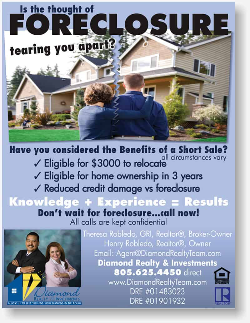 Diamond Realty display ad