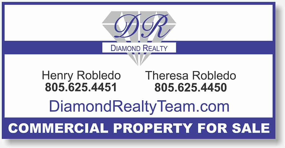 Diamond Realty sign