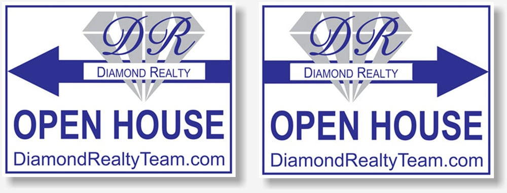 Diamond Realty yard signs