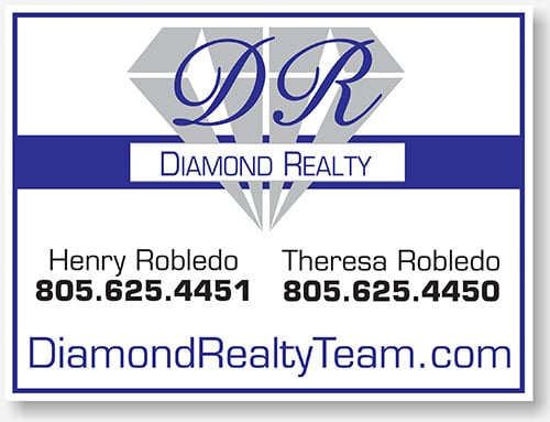 Diamond Realty yard sign