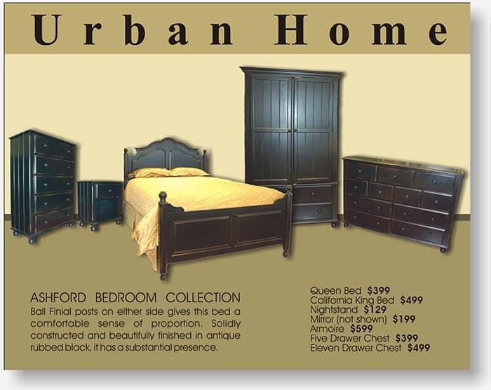 Urban Home half page display ad