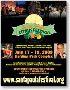 Citrus Festival flyer