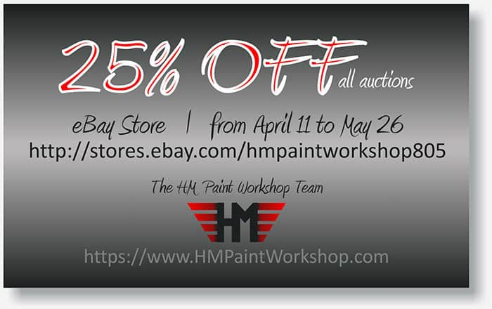 HM Paint Workshop display ad