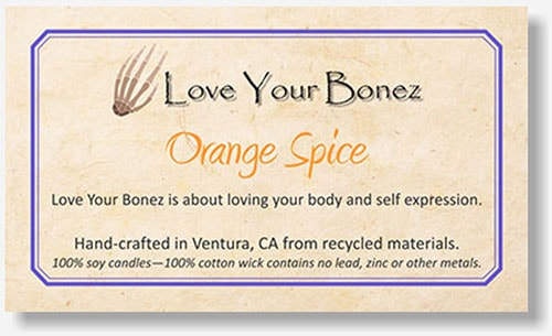 Love Your Bonez label