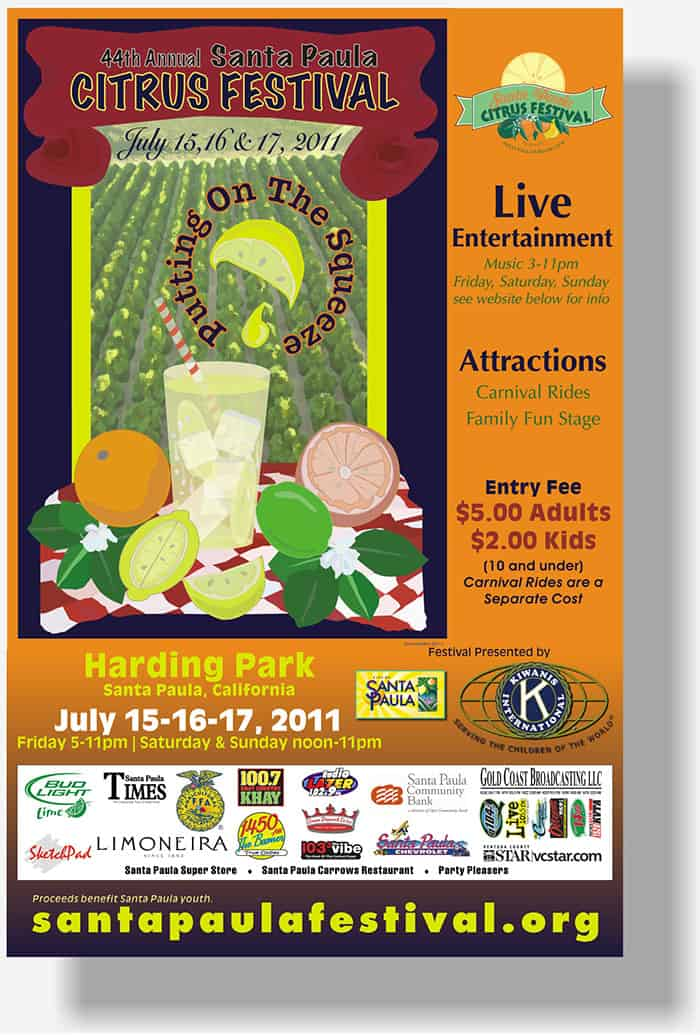 Citrus Festival poster