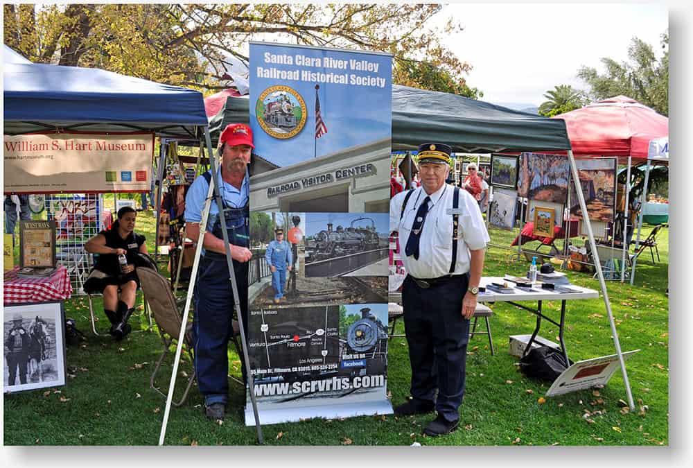 Santa Clara River Valley Railroad Historical Society banner