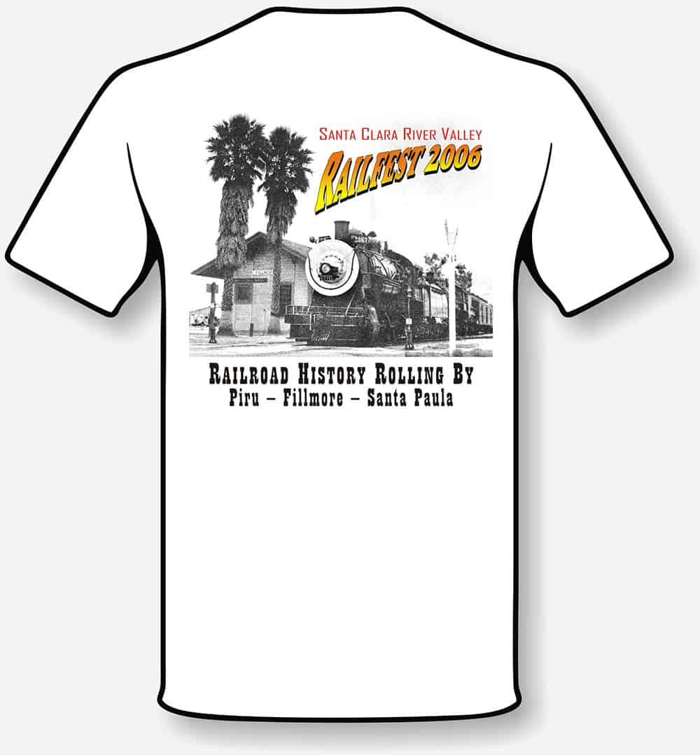 RailFest tshirt