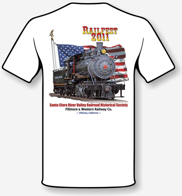 RailFest t-shirt