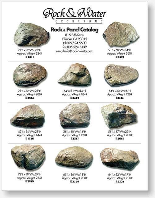 Rock N Water Booklet