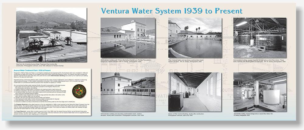 Ventura Water Works Large Panel